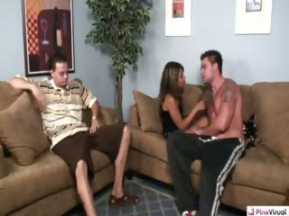 Porn Tube of A Poker Game Gets Crazy When Hubby Bets His Wife Margarita As Payment. When He Loses, He Has To Convince Her That She Has To Go Along For The 'ride'. Watch As Gotti Trumps His Ace Over Hubby's Queen And Flushes Her Pink Hole As Hubby Watches Her Repay A