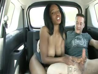 Porno Video of Ebony Hottie Renee Was Walking The Street Trying To Figure Out A Way To Grab Some Extra Cash, So When We Flashed Her Some Green She Was More Than Happy To Get Her Sweet Pussy Banged In Our Backseat! Renee Throats A Huge Cock Balls-deep Before Getting Her