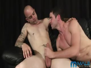 Porno Video of This Four Way Fuck Fest Is Light On Foreplay, But Heavy On Fellatio, And Ends In A Cum Shower That Has To Be Seen To Be Believed!