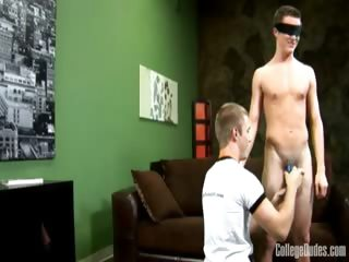 Porn Tube of Blindfolded And Spanked 2