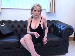 Cheating british milf lady sonia shows off her large boobs